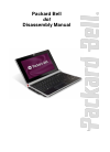 Packard Bell dot Disassembly Manual 30 pages