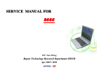 MiTAC 8666 Service Manual 203 pages