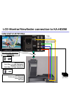 JVC KA-HD250 Connection Manual 5 pages