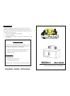 Wild tech ME2603-1 Operation & User's Manual 5 pages