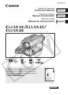 Canon 0273B001 - Elura 90 Camcorder