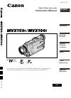 Canon MVX100