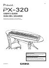 Casio PX-320