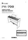 Casio PX700